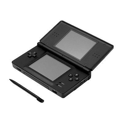 Console Nintendo DSi Preto + 170 Jogos Digitais (Seminovo)