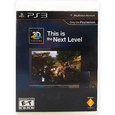 Jogo This is the Next Level - PS3 (Seminovo)