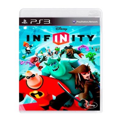 Jogo Disney Infinity  Só Disco  - PS3 Seminovo