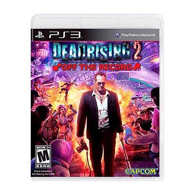 Jogo Dead Rising 2 Off The Record - PS3 Seminovo