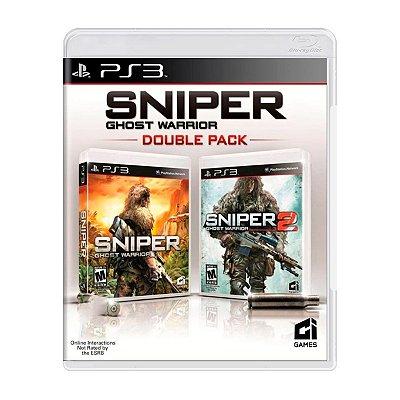 Jogo Sniper: Ghost Warrior Double Pack - PS3 Seminovo