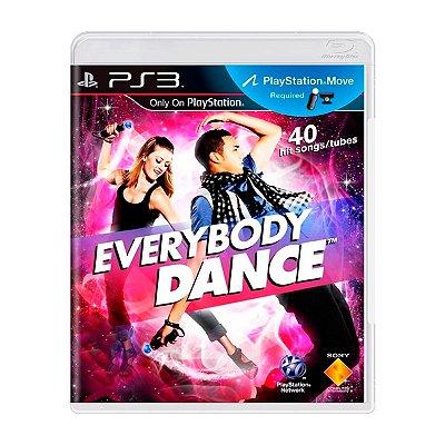 Jogo Everybody Dance - PS3 Seminovo