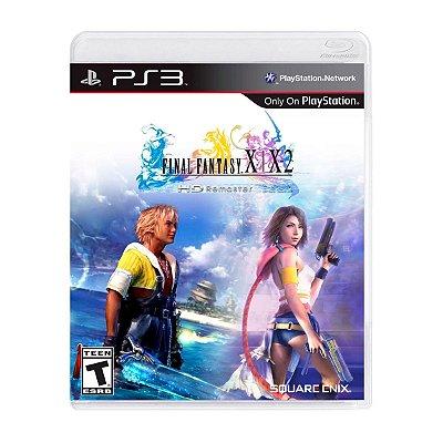 Jogo Final Fantasy X X2 HD Remaster - PS3 Seminovo