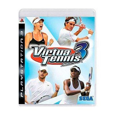 Jogo Virtua Tennis 3 - PS3 Seminovo