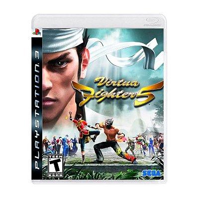 Jogo Virtua Fighter 5 - PS3 Seminovo