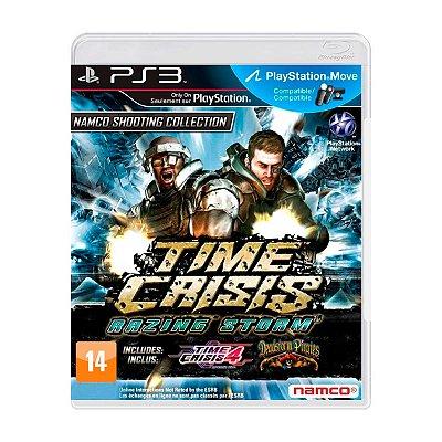 Jogo Time Crisis Razing Storm - PS3