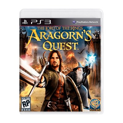 Jogo The Lord of The Rings Aragorn's Quest - PS3 Seminovo