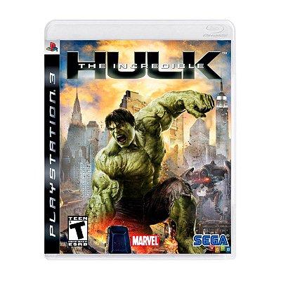Jogo The Incredible Hulk - PS3 Seminovo