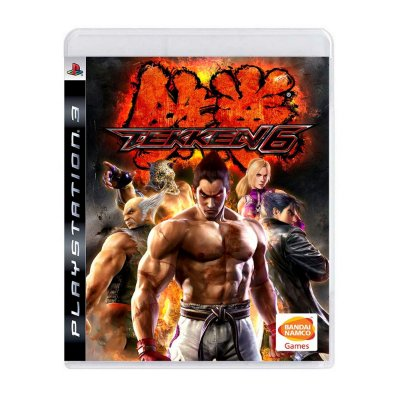 Jogo Tekken 6 - PS3 Seminovo