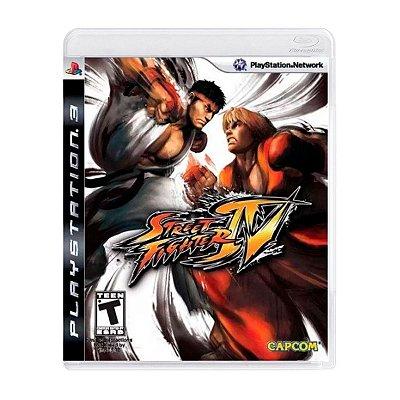 Jogo Street Fighter IV - PS3 Seminovo