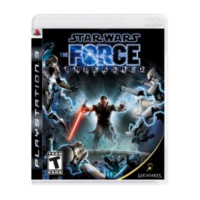 Jogo Star Wars The Force Unleashed - PS3 Seminovo