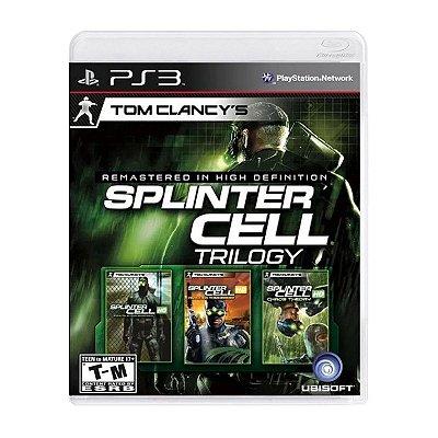 Jogo Tom Clancys Splinter Cell Trilogy - PS3 Seminovo