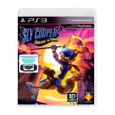 Jogo Sly Cooper Thieves in Time - PS3