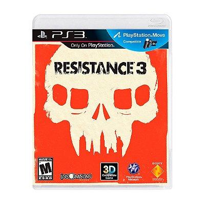 Jogo Resistance 3 - PS3 Seminovo