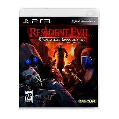 Jogo Resident Evil Operation Raccoon City - PS3 Seminovo