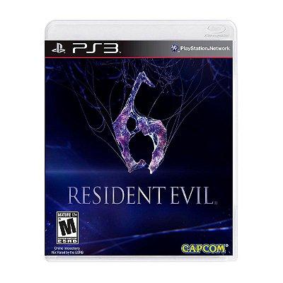 Jogo Resident Evil 6 - PS3 Seminovo