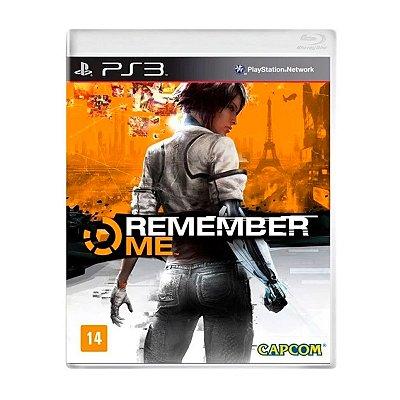 Jogo Remember Me - PS3 Seminovo