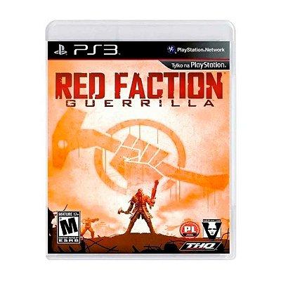 Jogo Red Faction Guerrilla - PS3 Seminovo