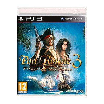 Jogo Port Royale 3 Pirates and Merchants - PS3