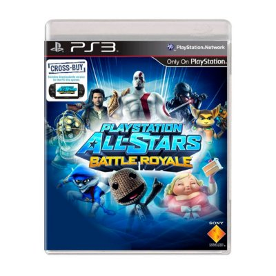 Jogo Playstation All-Stars Battle Royale - PS3 Seminovo