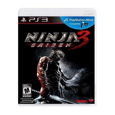 Jogo Ninja Gaiden 3 - PS3 Seminovo