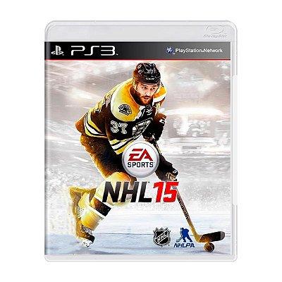 Jogo NHL 15 - PS3