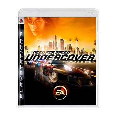 Jogo Need For Speed Undercover - PS3 Seminovo