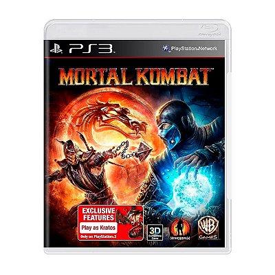 Jogo Mortal Kombat - PS3 Seminovo