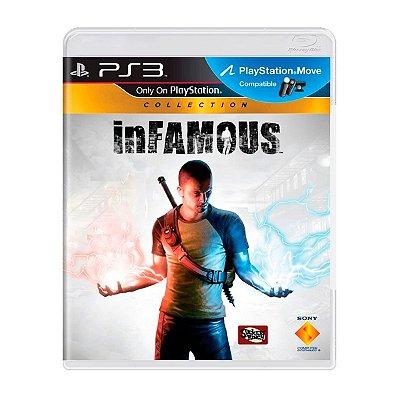 Jogo inFAMOUS Collection - PS3 Seminovo