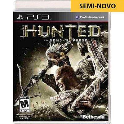Jogo Hunted The Demons Forge - PS3 (Seminovo)