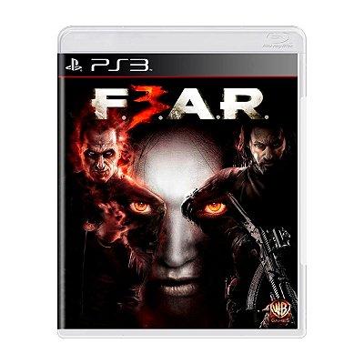 Jogo FEAR 3 - PS3