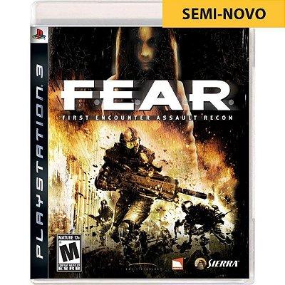 Jogo FEAR - PS3 Seminovo