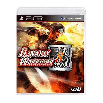 Jogo Dynasty Warriors 8 - PS3 Seminovo