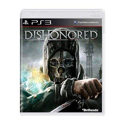 Jogo Dishonored - PS3 Seminovo
