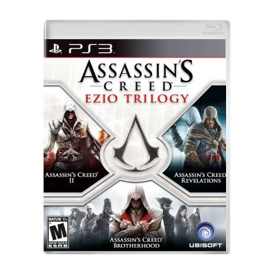 Jogo AssassinS Creed Ezio Trilogy - PS3 (Seminovo)