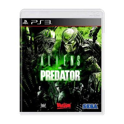 Jogo Aliens Vs Predator - PS3 Seminovo