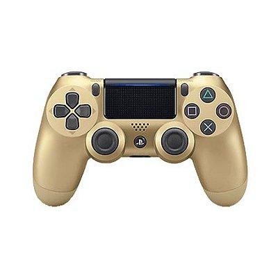Controle DualShock 4 Dourado - PS4 (Seminovo)