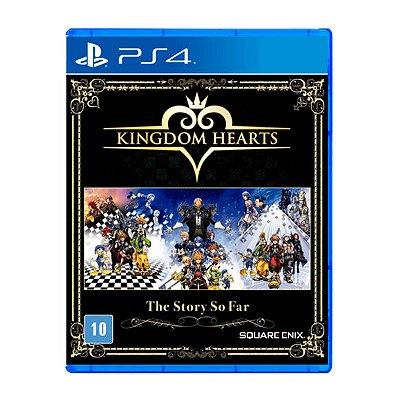 Jogo Kingdom Hearts The Story So Far - PS4