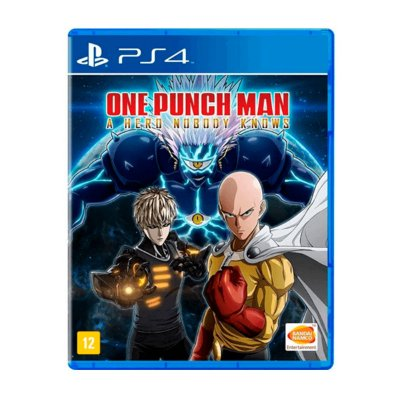 Jogo One Punch Man A Hero Nobody Knows - PS4