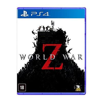Jogo World War Z - PS4