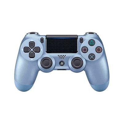 Controle Sem Fio Azul Titânio - PS4