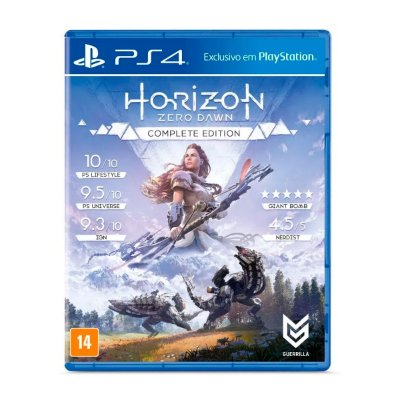 Jogo Horizon Zero Dawn Complete Edition - PS4