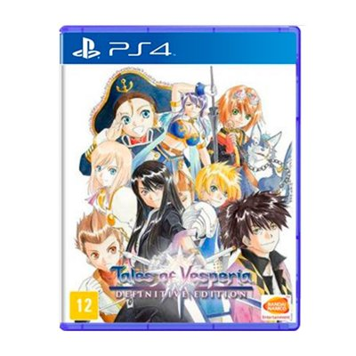 Jogo Tales of Vesperia Definitive Edition - PS4