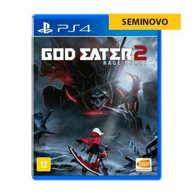 Jogo God Eater 2 Rage Burst - PS4 Seminovo