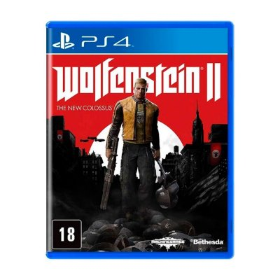 Jogo Wolfenstein II The New Colossus  - PS4 Seminovo