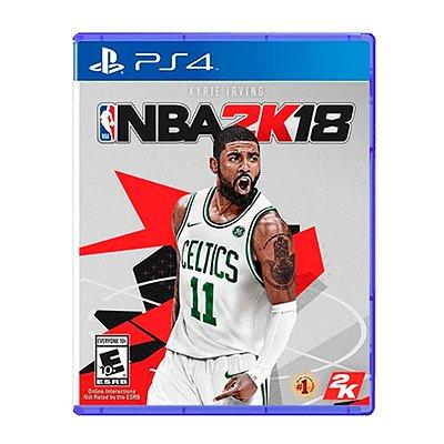 Jogo NBA 2K18 - PS4 Seminovo