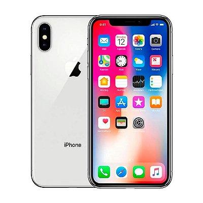 Smartphone Apple iPhone X 256GB 3GB Branco Seminovo