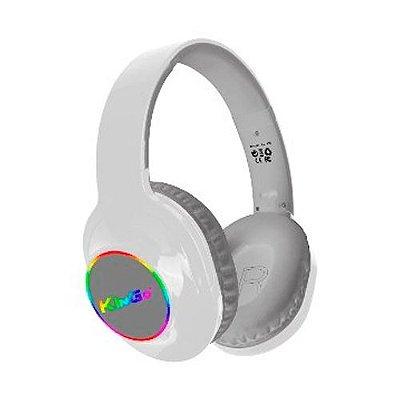 Fone de Ouvido Kingo KG-800 Bluetooth Branco