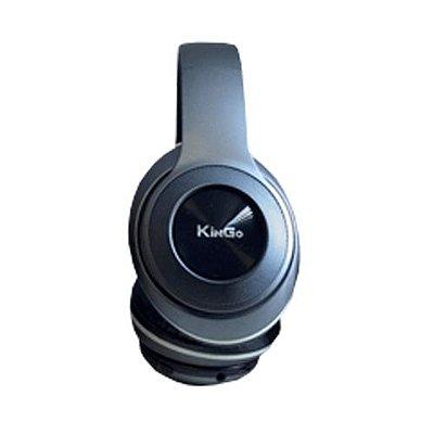 Fone de Ouvido Kingo KG-750 Bluetooth Fumê