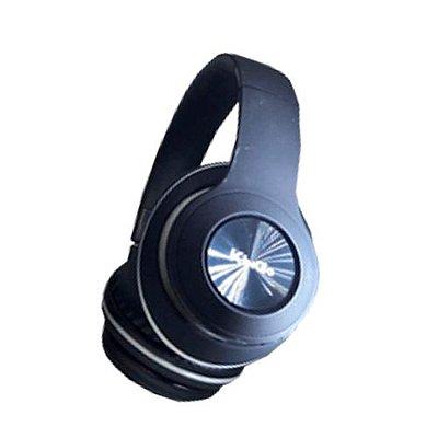 Fone de Ouvido Kingo KG-750 Bluetooth Preto